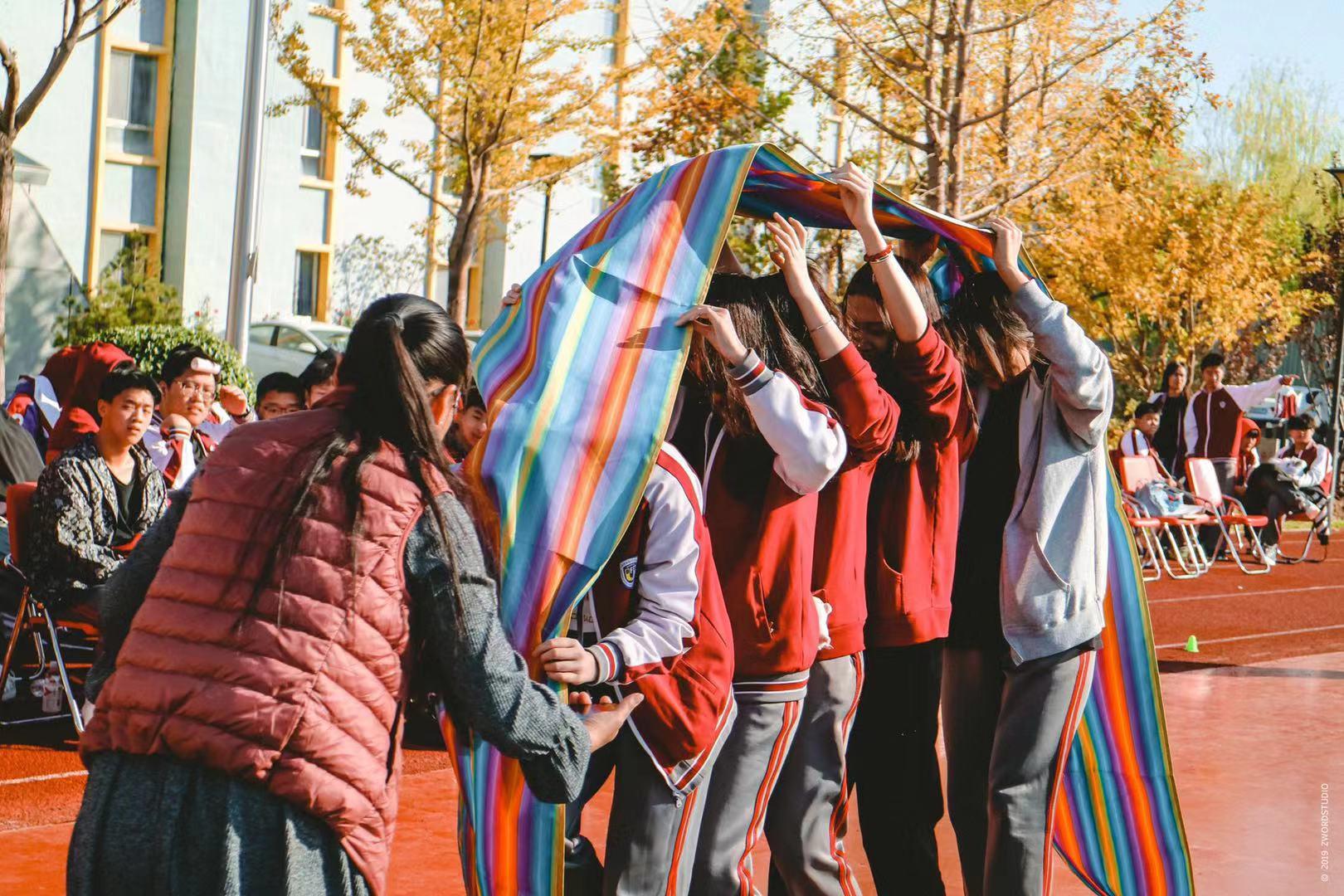 """""""我运动、我快乐、我健康""""∣北京市朝阳区北外附校双语学校第一届趣味运动会圆满结束"""