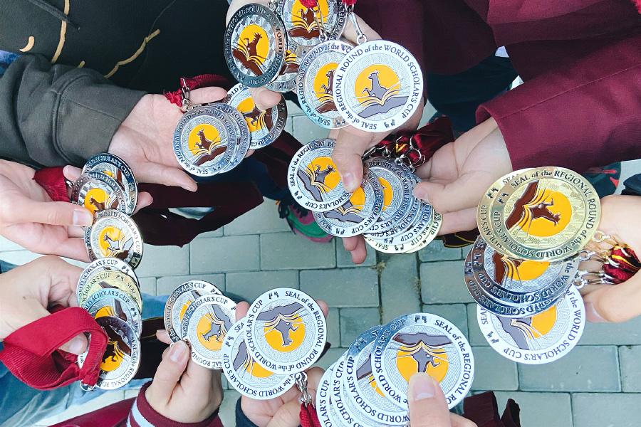 """全员晋级∣北外国际高中学子征战2020年 """"世界学者杯""""耶鲁冠军赛区域选拔赛,挺进中国总决赛!"""